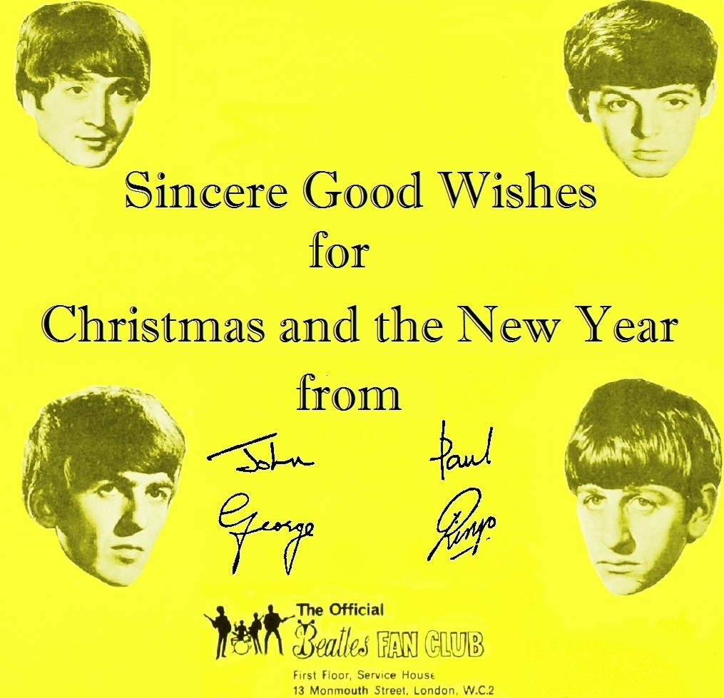 December 6: The Beatles released The Beatles' Christmas Record 1963 | Born  To Listen